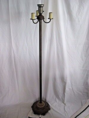 Vintage Five Bulb Floor Lamp    This is the lamp with the night light base,
