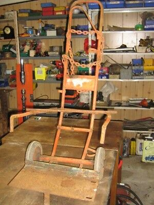 Gas welding bottle trolley - oxy acetylene