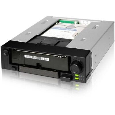 NEW Icy Dock MB971SP-B DuoSwap 2.5/3.5in SATA Hot Swap Drive Caddy Bay Adapter