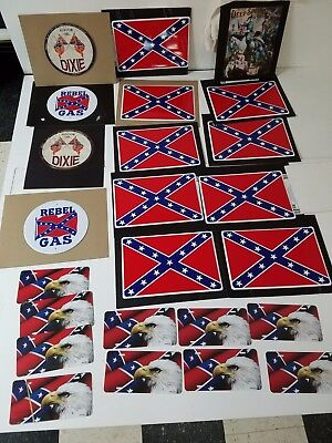 3x5 polyester Southern Civil War Flag sign plates Red White Blue Banners 60 ITEM