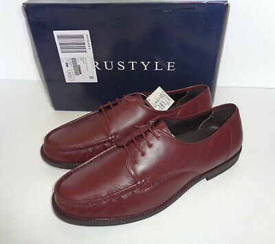 Red Tape Nevis Mens Leather Brown Slip On Smart Formal Shoes UK Size 8