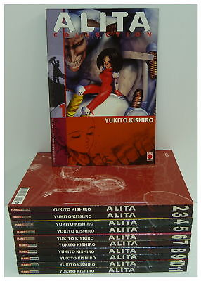 Yukito Kishiro ALITA COLLECTION nn. 1-11 COMPLETA panini