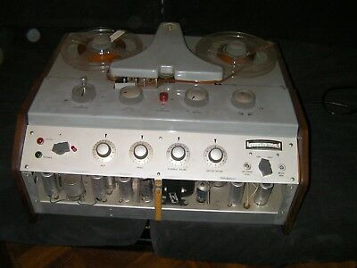 Very Rare Vintage Reflectograph reel to reel tape recorder