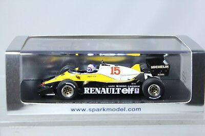 Spark 1/43 Renault RE40 #15 Winner French GP A.Prost