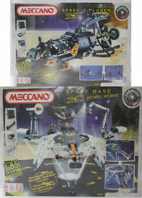 Meccano Space Explorer and Space Base Sets - Still Shrink Wrapped