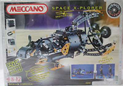 Meccano Space Explorer Set - Still Shrink Wrapped