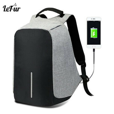 Bobby - ANTI-THEFT BACKPACK - XD Design USB Waterproof Travel Back pack