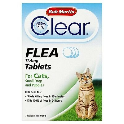 Bob Martin Flea Tablets for Cats and Small Dog Under 11 K... *SAME DAY DESPATCH*