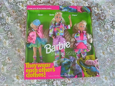 Barbie Sharin' Sisters Gift Set-Barbie-Skipper-1991-NRFB