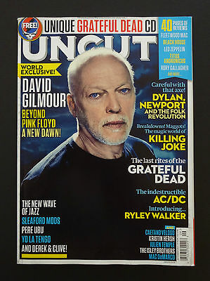Uncut Magazine David Gilmour Pink Floyd Cover Take 220 2015 September UK No CD !
