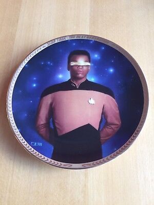 The Hamilton Collection: Star Trek Next Generation 5th Anniversary 'LaForge'