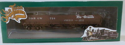 On3 RTR SJC DENVER & RIO GRANDE WESTERN DROP BOTTOM GON #724 FACTORY PAINTED NEW