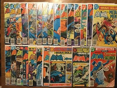 Brave and the Bold 114-199 Not Complete Batman Special 1978 1974 Joker Robin