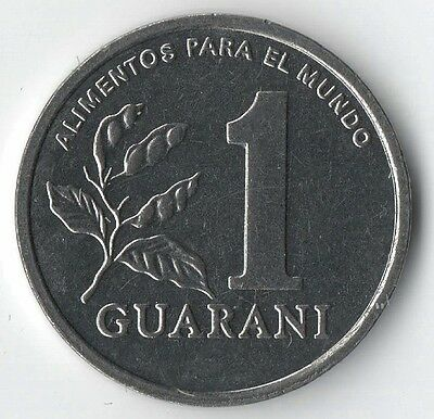 Paraguay 1-Guarani coin 1988 uncirculated taken straight from mint bag