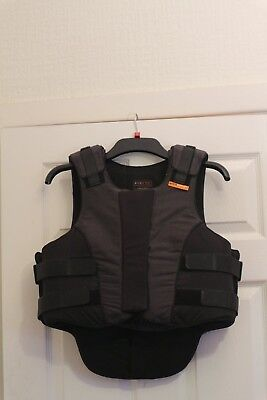 Ladies Black and Grey Airowear Outlyne Level 3 Body Protector Size L5 Regular