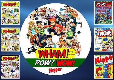 Wham! + Pow! + Wow! + Nipper Comics On DVD Rom