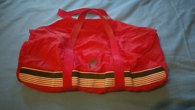 Vintage Pizza Hut Zip Up Duffle Bag