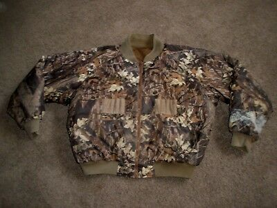Mens Columbia Insulated  Reversible Camo Hunting Coat Jacket Size Large L