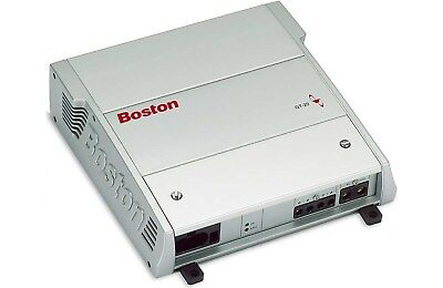 Boston Acoustics GT-20 250 Watts RMS 2 Ohm Bridged 2-Channel AB Amplifier W/ Fan