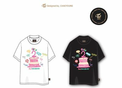 Twice Fan Meeting Once Begins Official Goods White T-Shirt T-Shirts Xl Size New