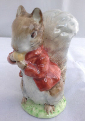"Beswick Beatrix Potter ""Timmy Tioptoes""  Gold Oval Bp2 Backstamp"
