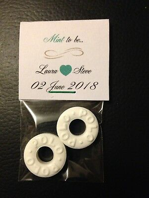 50 Mint To Be Wedding Favours
