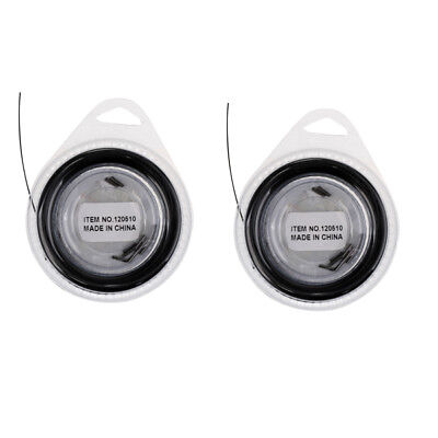 2x 10m Fishing Steel Line Sea Fishing Steel Wire Leader Covered with Plastic