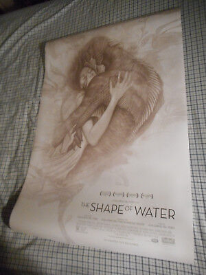 "Guillermo Del Toro THE SHAPE OF WATER official movie poster DS 27""x40"" New 2017"