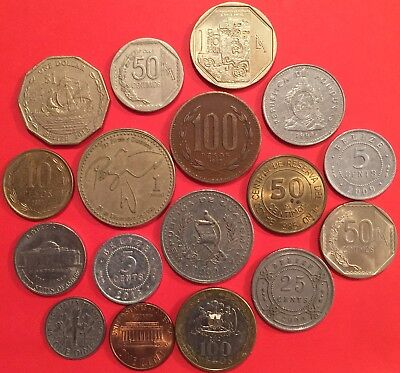 Lot of 17 collectible coins of America AME L01