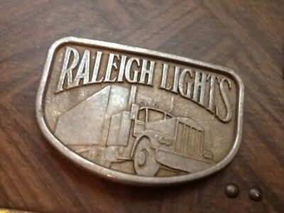 VINTAGE RALEIGH /BELT BUCKLE FREE SHIP AS SHOWN  lot 35B