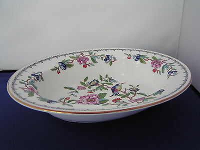 Aynsley Pembroke Gold Oval Vegetable Dish .