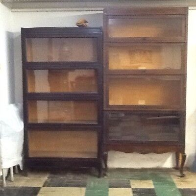 Globe-Wernicke Antique Lawyer Bookcases