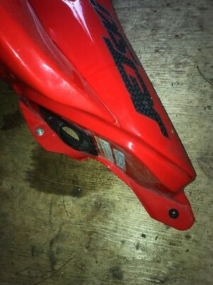 2007 Kawasaki Ultra 250x Red Left Mirror Side