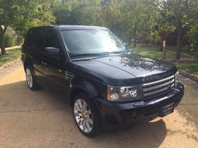 2008 Land Rover Range Rover  sport supercharged low mile free shipping warranty clean carfax cheap finance