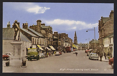 ANNAN postcard High Street looking east