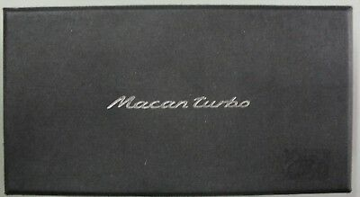 Billet Aluminum Porsche Macan Turbo Paperweight/model W/box!!!