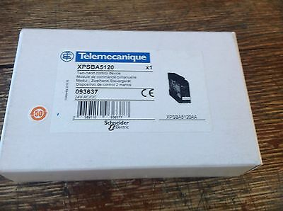 Telemecanique safety relay XPSBA5120 Schneider 093637 New in box.