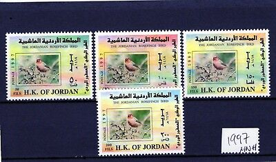 JORDAN 1997 Rosefinch Birds set of 4 comp. MINT NH