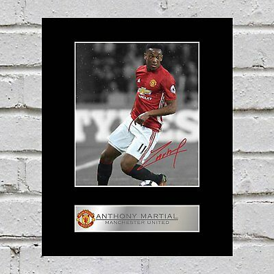 Anthony Martial Photo Display Manchester United FC