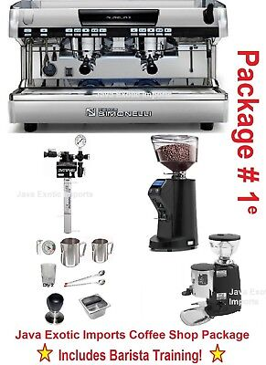 Simonelli Aurelia AUTOMATIC Espresso Machine Coffee Shop PKG TRAINING + INSTALL