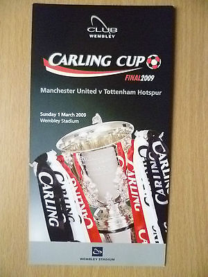 Tickets Stubs: 2009 FA Cup FINAL- MANCHESTER UNITED v TOTTENHAM HOTSPUR, 1 March
