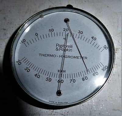 Thermo - Hygrometer Instrument By Pastorelli & Rapkin Almost Fine  - Quality