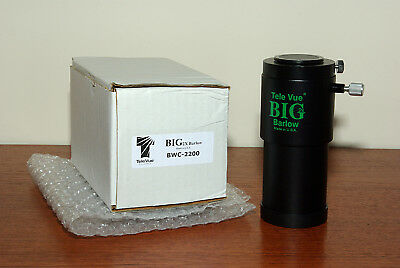 """TeleVue 2"""" Big Barlow Boxed - with 1 1/4"""" Adapter"""
