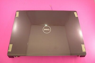 Grade A Plum Purple P563X Dell Studio 1735 17 LCD Back Cover Lid Top Plastic with Hinges P563X