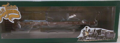 On3 RTR SJC DENVER & RIO GRANDE WESTERN TRUSS ROD FLAT CAR #6723 FAC PAINTED NEW