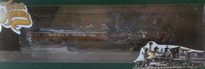 On3 RTR SJC DENVER & RIO GRANDE WESTERN TRUSS ROD FLAT CAR #6708 FAC PAINTED NEW