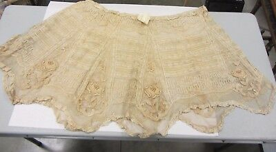 Antique Lace from Wedding Dress 1903 Re-Purpose Reinvent Vintage Crafts