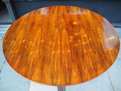vintage Archie Shine extending round dining table Robert Heritage Danish Modern