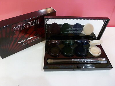 MAKE UP FOR EVER Black Tango Palette 4 Aqua Cream Waterproof Eyeshadow/Liner $45