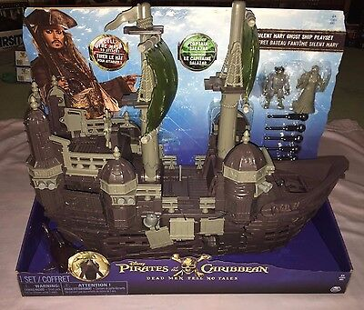 Pirates Of The Caribbean Dead Men Tell No Tales Silent Mary Ghost Ship Playset